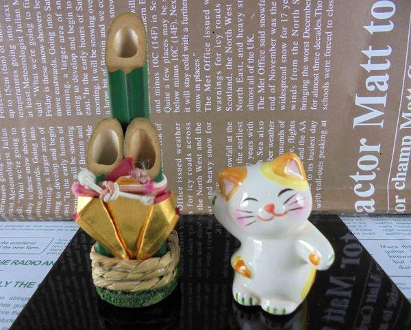 【震撼精品百貨】招財貓_招き猫~招財貓擺飾-風水貓-招手圖案