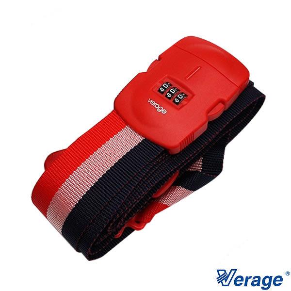 Verage 十字三碼束帶-旅行箱 綁帶/束帶『紅』379-5304