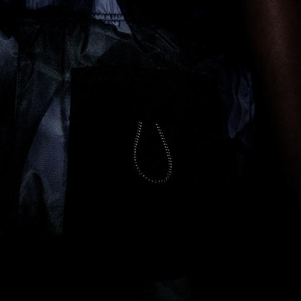 NIKE TEMPO RUN DIVISION 女裝 短褲 乾爽 口袋 反光 滿版 黑灰【運動世界】DA1077-010
