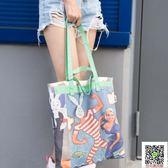 手提包-大力兔單肩購物袋