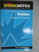【書寶二手書T3/原文書_GJH】Spark Notes Walden_Thoreau, Henry David