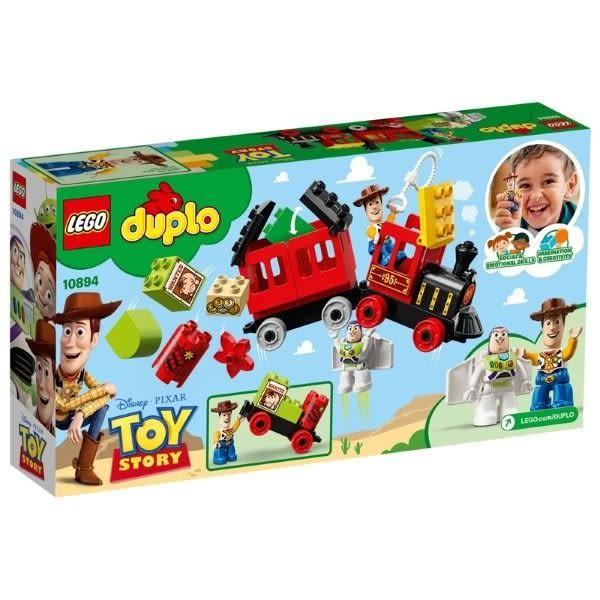 【LEGO樂高】DUPLO 玩具總動員 玩具火車 #10894