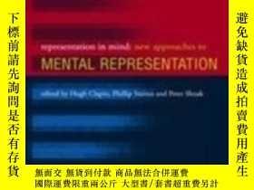 二手書博民逛書店Representation罕見In Mind, Volume 1Y364682 Clapin; Clapin
