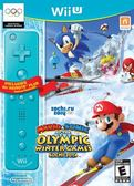 WiiU Mario & Sonic Sochi 2014 Olympic Winter Games with Blue Wii Remote Plus(美版代購)