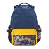 【南紡購物中心】SOLIS 【反光骷髏系列】ONES 小尺寸前袋款電腦後背包