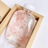 四月花藝 ins永生花漂浮瓶 植物標本浮游瓶擺件 送朋友生日禮物 台北日光