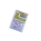 《享亮商城》NO.25 美式圖釘全透明  徠福