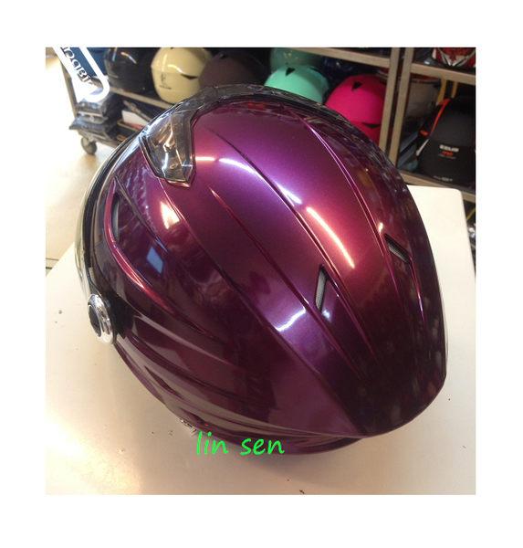 GP-5半罩安全帽,020/紫紅
