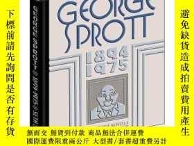 二手書博民逛書店George罕見Sprott 1894-1975Y255562 Seth Drawn And Quarterl