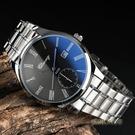 藍光手錶男士防水夜光鋼帶非機械錶男錶石英錶潮流學生女款情侶錶「時尚彩紅屋」