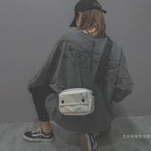 小包包包包女2020新品潮韓版百搭斜挎時尚港風復古蹦迪網紅小黑包【快速出貨】