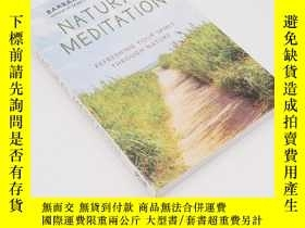 二手書博民逛書店Natural罕見Meditation: Refreshing