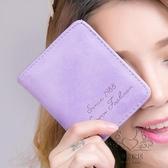 小錢包女短版女士錢包折疊零錢包女正韓學生迷你卡包女式兩折