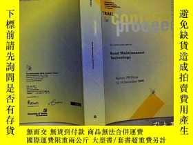 二手書博民逛書店ROAD罕見MAINTENANCE TECHNOLOGYY203