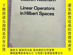 二手書博民逛書店linear罕見Operators in Hilbert spaces(P005)Y173412 Joachi