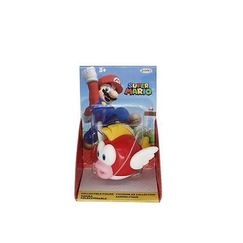 《 任天堂 》超級瑪利歐 2.5吋公仔W28 - 泡泡魚 / JOYBUS玩具百貨