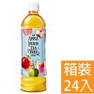 古道 雙味果茶 蘋果蜜桃茶 575ml  24入/箱