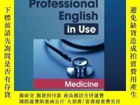 二手書博民逛書店Professional罕見English In Use MedicineY255562 Glendinnin