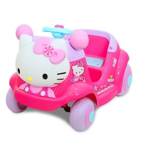 Hello Kitty凱蒂貓-超可愛粉嫩嫩遙控兒童電動車[衛立兒生活館]