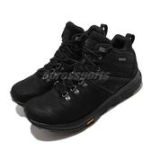 Merrell 戶外鞋 Zion Peak Mid Waterproof 黑 銀 男鞋 越野 中筒 運動鞋 【ACS】 ML035357