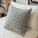限量方形抱枕 海棠花  磨毛材質抱枕   枕芯超飽滿 台灣製