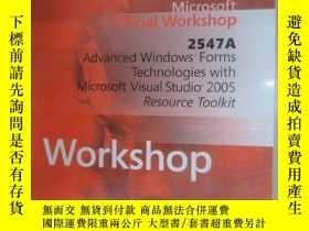 二手書博民逛書店外文書罕見Advanced Windows Forms technologies with microsoft v