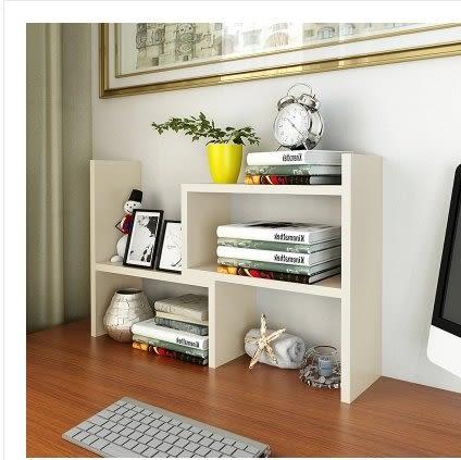 兒童小書架簡易桌上置物架桌面學生書櫃辦公室創意桌子書桌收納架
