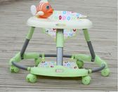 嬰兒學步車6-7-18個月防側翻帶音樂寶寶助步車折疊兒童腳步車圓形XW中秋烤肉鉅惠