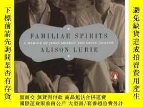 二手書博民逛書店Familiar罕見Spirits-熟悉的靈魂Y436638 Alison Lurie Penguin Boo
