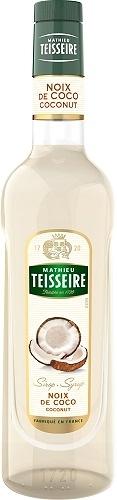 Teisseire 糖漿果露-椰子風味 Coconut Syrup 法國頂級天然糖漿 700ml-【良鎂咖啡精品館】
