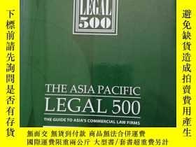 二手書博民逛書店the罕見Asia pacific legal 500 2006