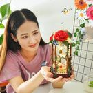 diy小屋閣樓手工制作迷你小房子模型別墅拼裝玩具創意禮物女【快速出貨】