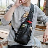 新款韓版男包斜背包休閒潮流情侶胸包學生背包商務旅行時尚單肩包 遇見生活