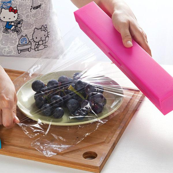 保鮮膜切割器 切割盒 (不挑色)