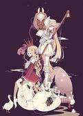 【拼圖總動員 PUZZLE STORY】牧鵝姑娘(作者:しきみ) 日本進口拼圖/Epoch/繪畫/500P