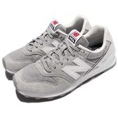 New Balance 復古慢跑鞋 NB 996 灰 白 麂皮 運動鞋 復古 女鞋【PUMP306】 WR996HSD
