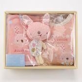 [拉拉百貨 ]日本製  Anano Cafe  彌月禮盒 三件組(女寶寶款)