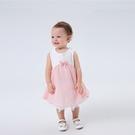 Baby童衣 雙層裙襬 小仙女無袖包屁衣 氣質公主蕾絲連身衣 LYT3