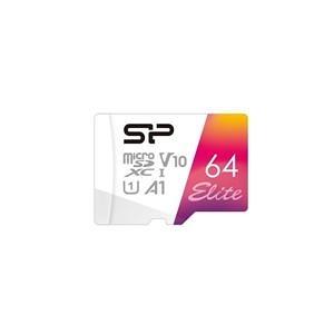 【綠蔭-免運】SP廣穎 MicroSD U1 A1 64G記憶卡(含轉卡)
