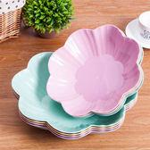 【超取299免運】小麥秸稈歐式簡約水果盤(大) 客廳茶几塑料糖果盤 乾果盤 零食盤