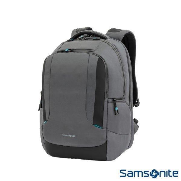 六折↘ Samsonite 新秀麗 [ Locus Z36 ] 智慧可調式夾層 15吋筆電後背包 N1 (灰)