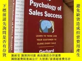 二手書博民逛書店The罕見Psychology of sales success