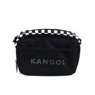 KANGOL 側背包 方形包 黑白格 6055300120 noC30