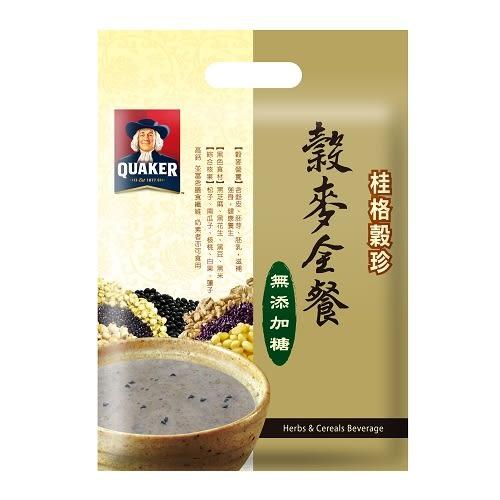 桂格穀珍-無糖健康全榖餐25g*12入【愛買】