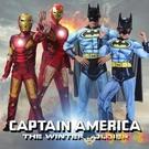 萬聖節兒童服裝鋼鐵俠戰衣cos衣服男童蝙蝠俠披風套裝成人【淘嘟嘟】
