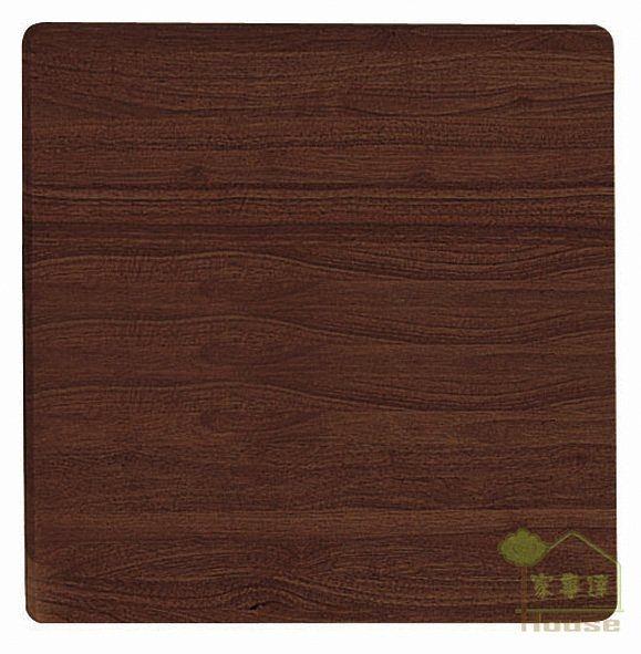[ 家事達] TMT 2.5*2.5尺方型實木餐桌面板 (TAR-59)-