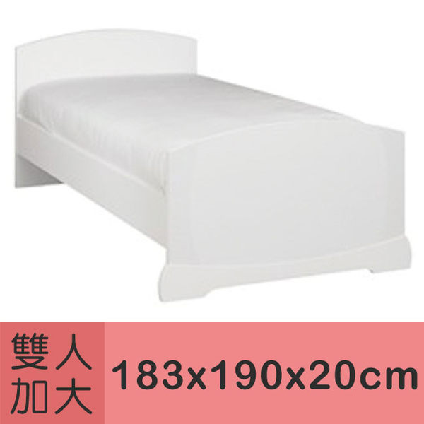 伊莉貝特物理性純棉防塵雙人加大床墊套183x190x20cm