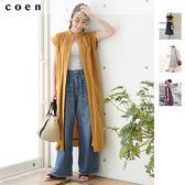 印度棉 細褶 長洋裝免運費 日本品牌【coen】