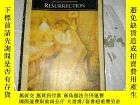 二手書博民逛書店LEOTOLSTOY罕見RESURRECTION復活(英文)Y2