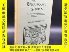 二手書博民逛書店精裝罕見Medieval and Renaissance Stu